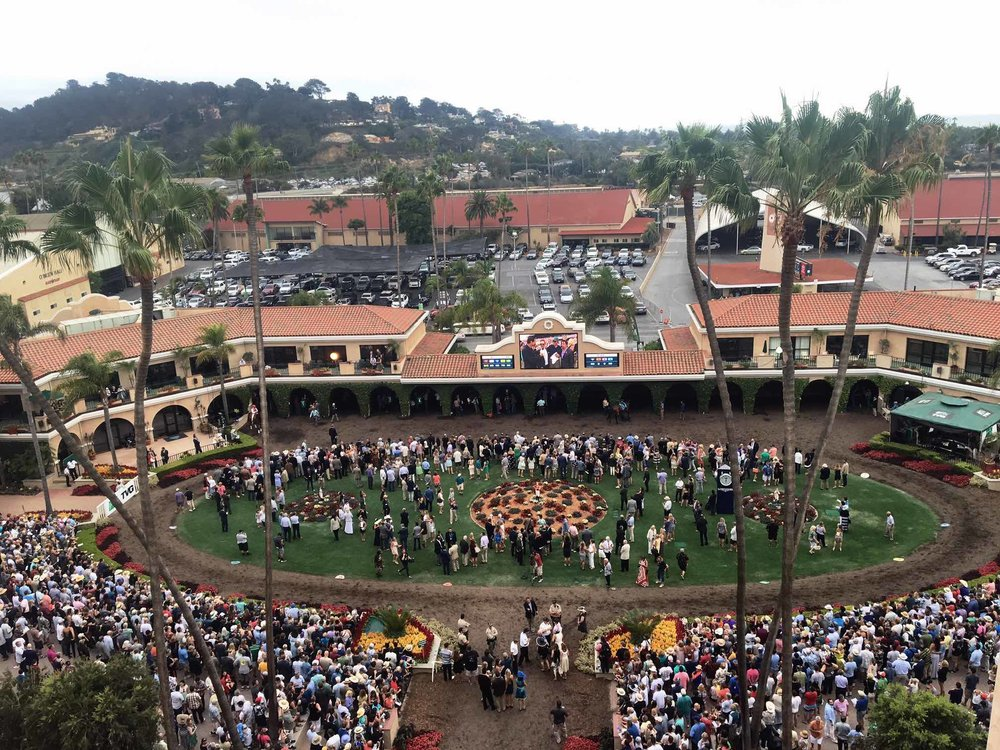 Del Mar Race Track in San Diego | San Diego Summer Activities