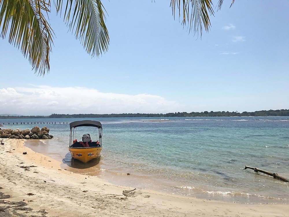 Playa Bocas del Drago, Bocas del Toro, Panama