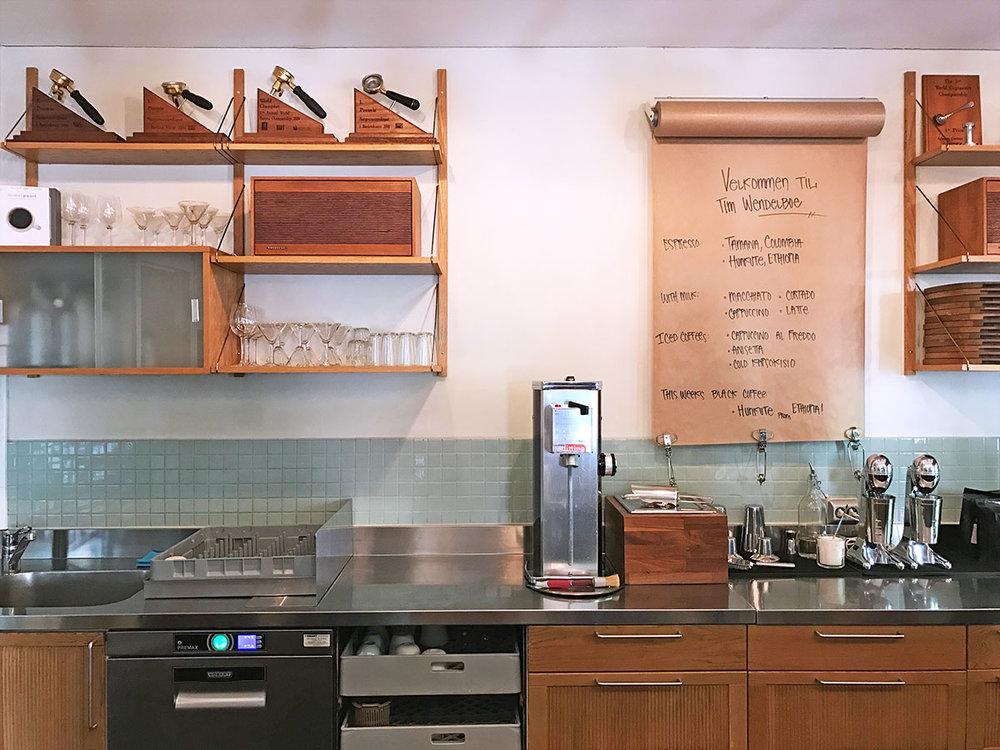 TIm Wendelbo Coffee in Oslo