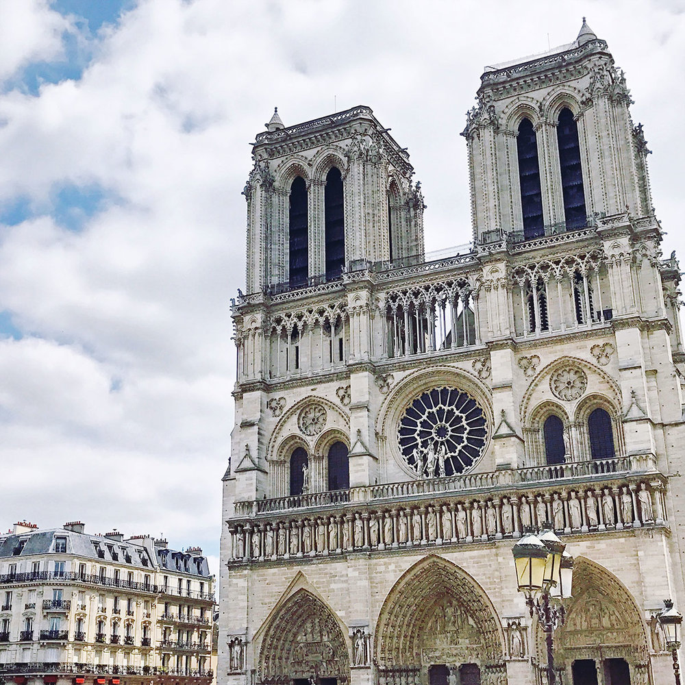 Notre Dame Paris | How to Get Around Paris France with the Navigo Pass