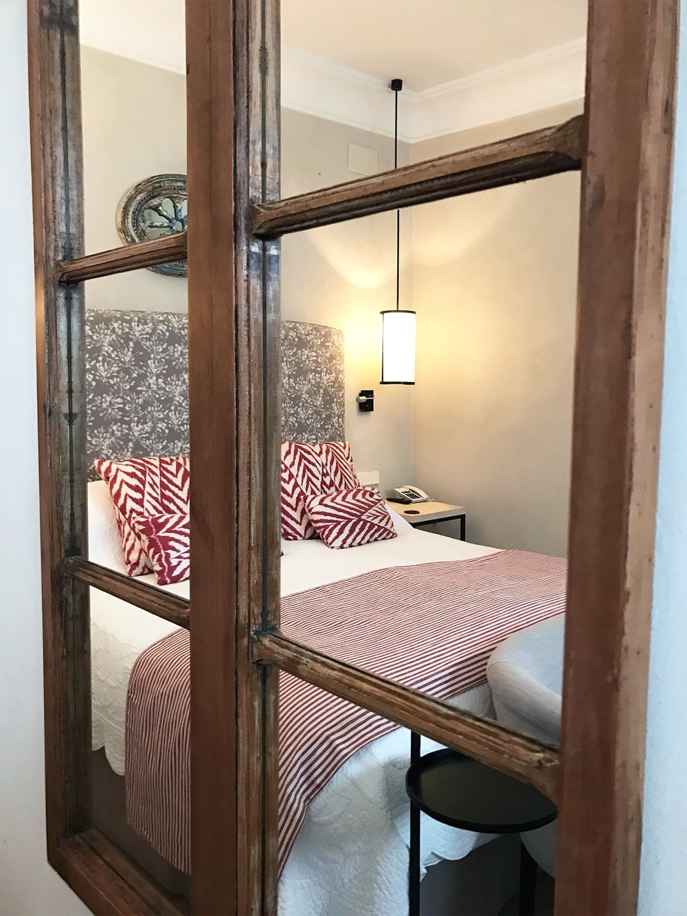 Corral del Rey hotel Seville Spain hotel room mirror.jpg