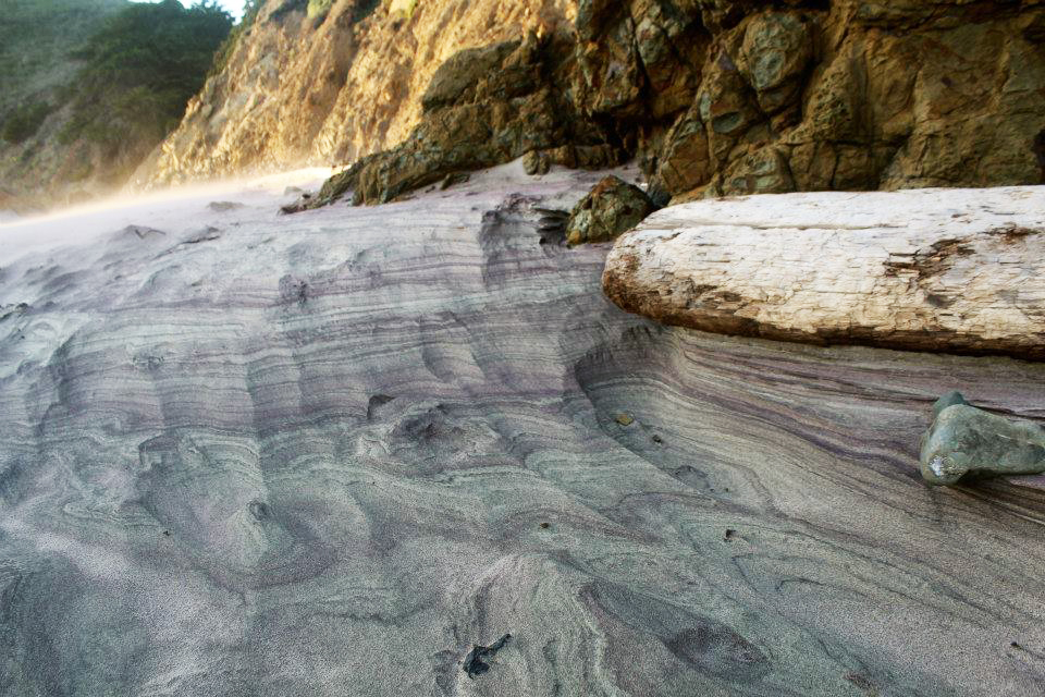 Pfeiffer Beach Big Sur purple sand beach