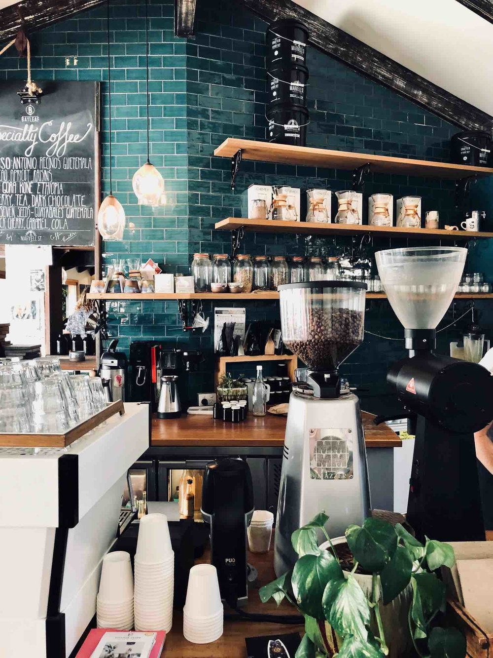 Coffee Bar| Bay Leaf Cafe Byron Bay