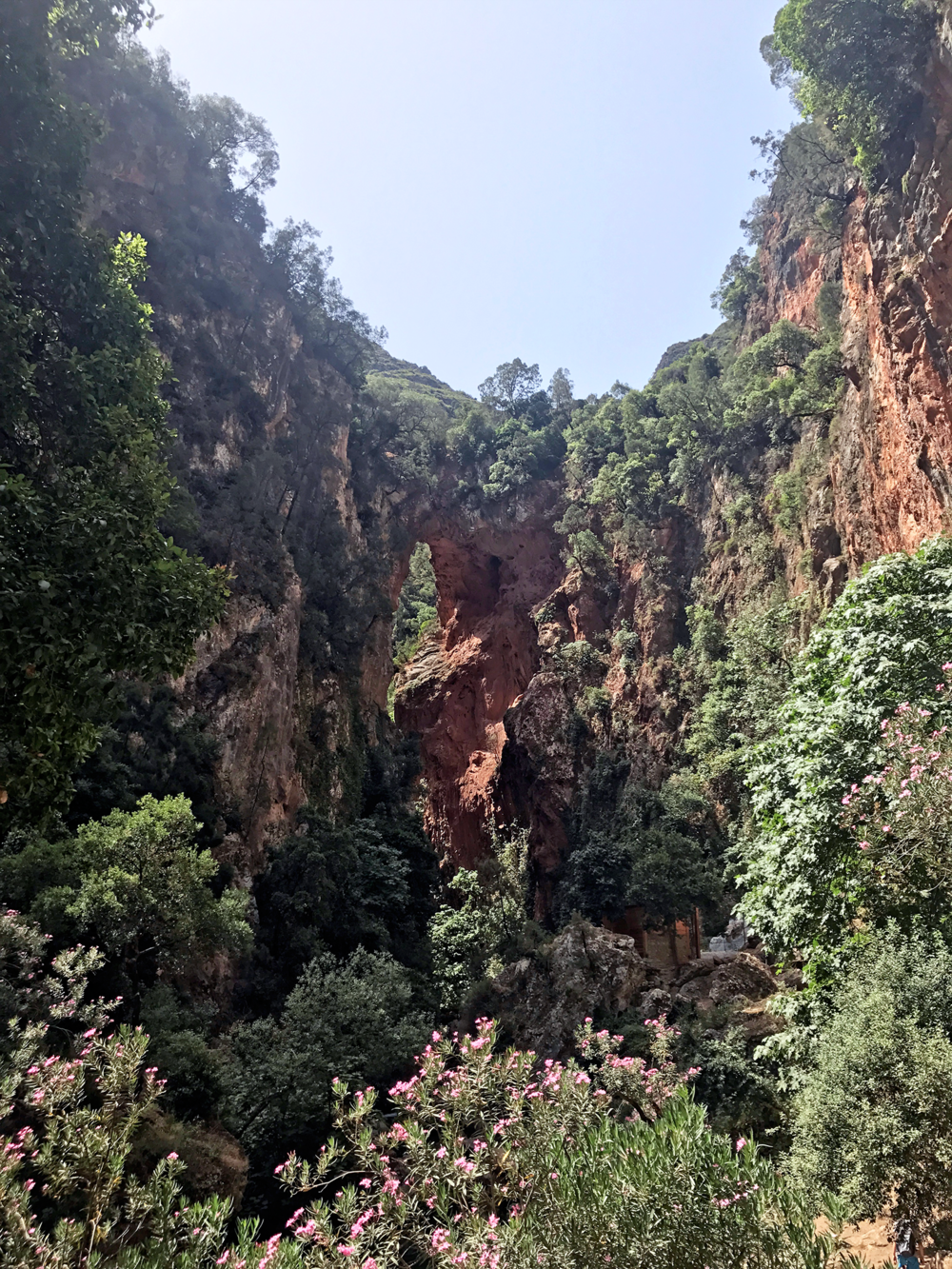 Hiking & Canyoneering in Akchour Morocco Gods Bridge | Photos of Morocco