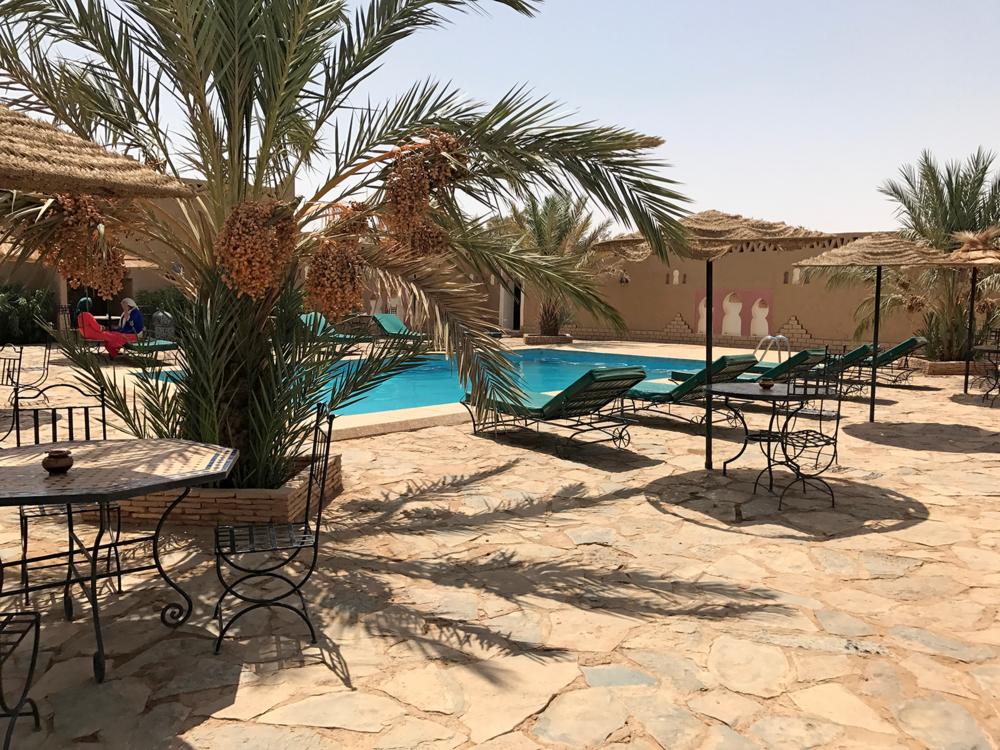 Merzouga Morocco auberge pool