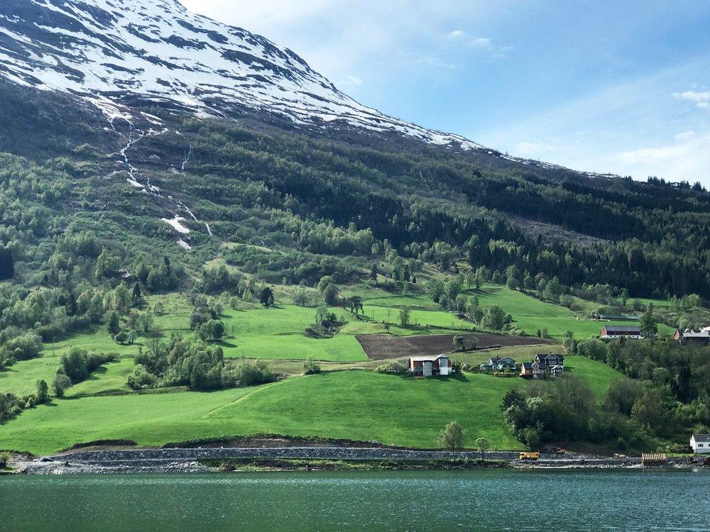 Norway Fjords Road Trip Snognefjord