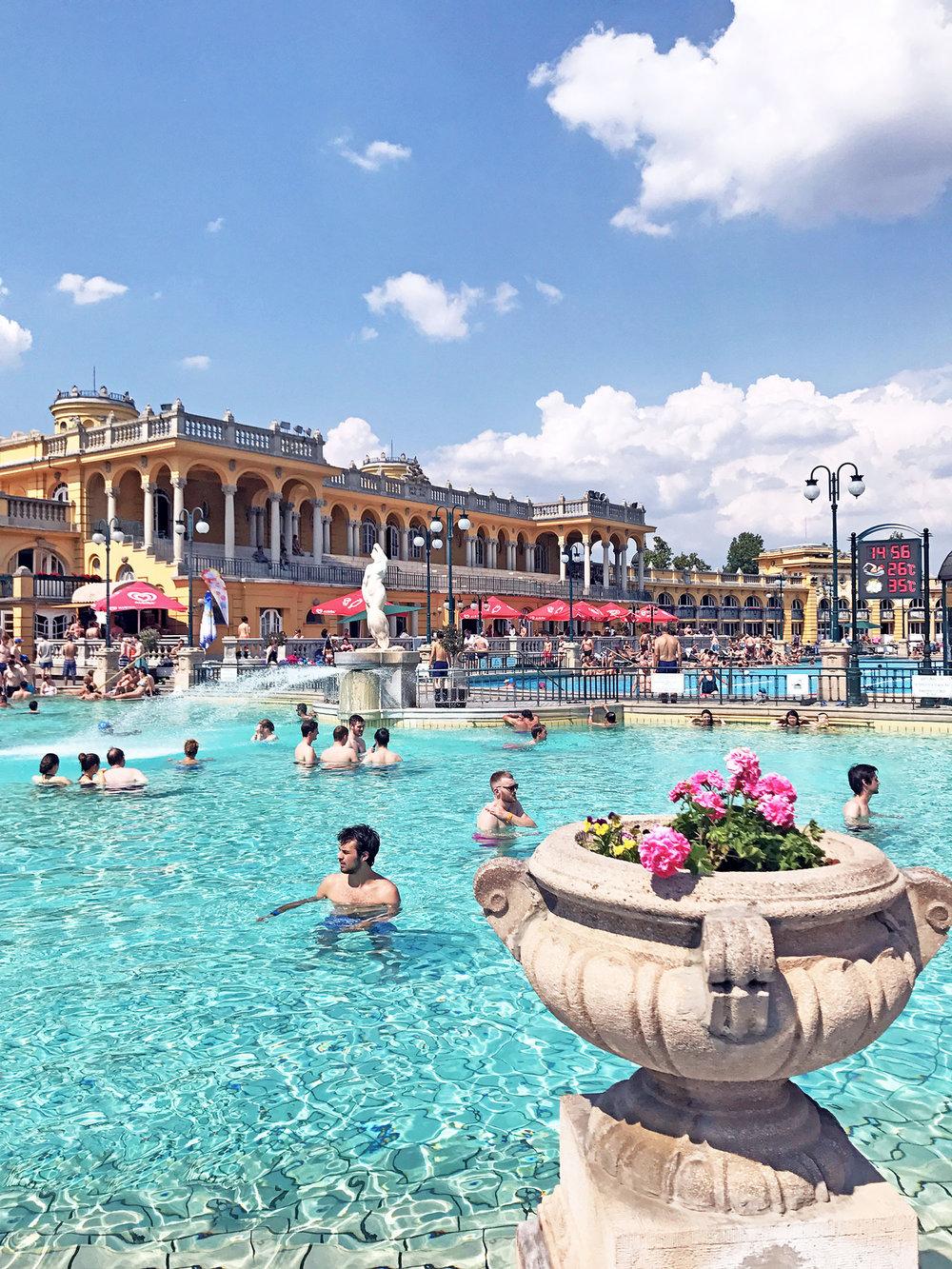 Szechenyi bath Budapest