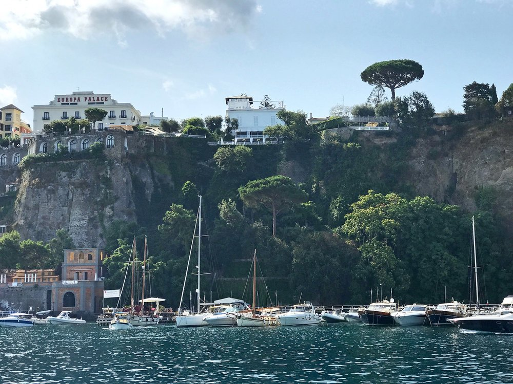 Stephanie miles amalfi coast