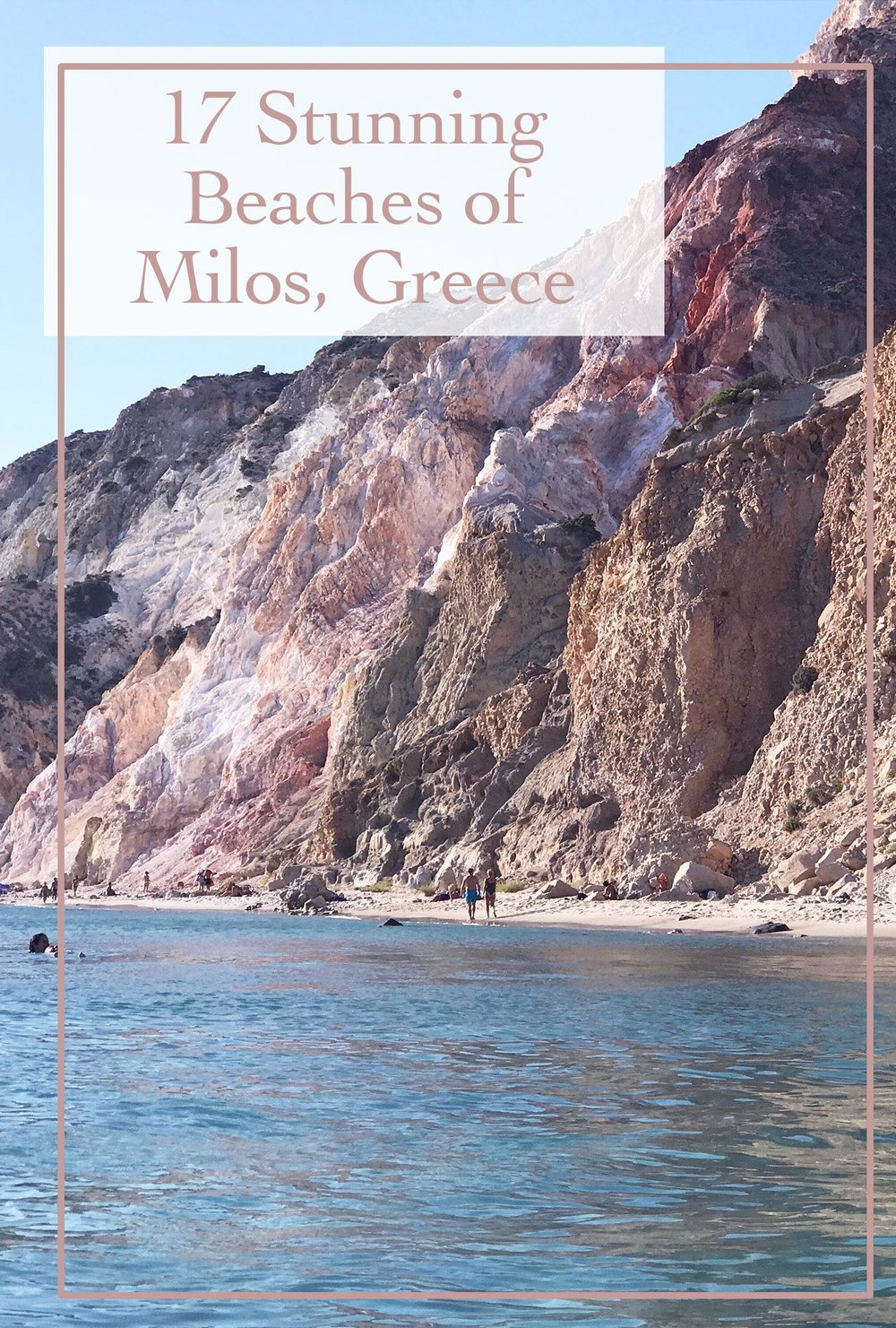 Top 17 Beaches on Milos, Greece