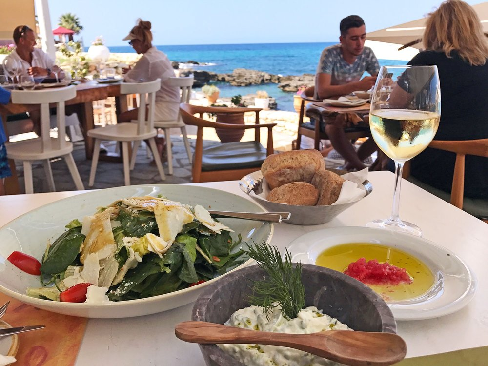 Prima Plora Restaurant | Top 8 Experience from Road Tripping Crete, Greece