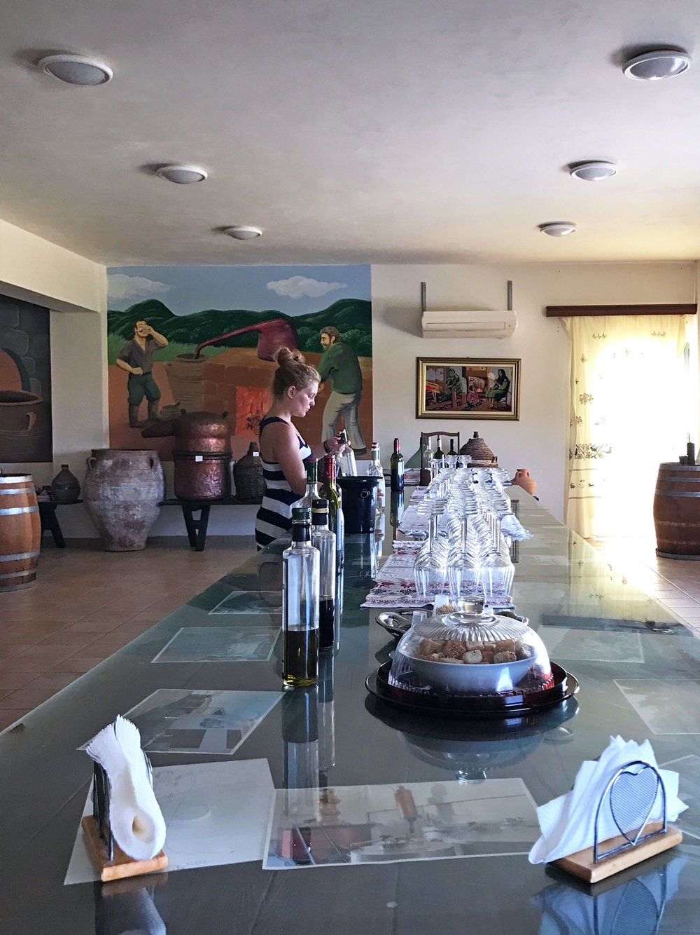 Pnevmatikakis Winery in Drapanias, Crete | Top 8 Experiences from Road Tripping Crete, Greece