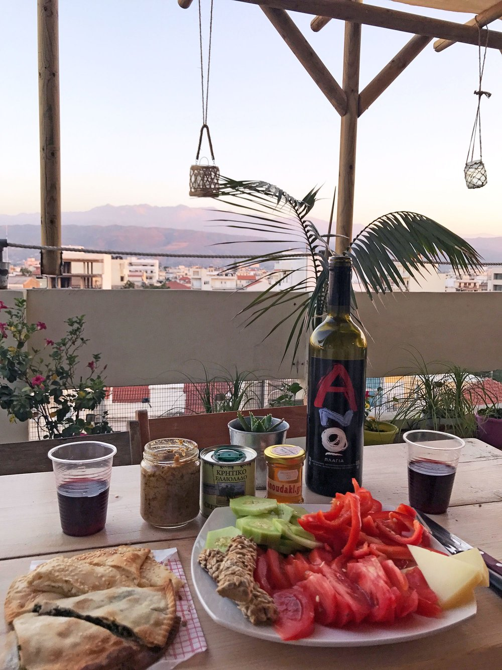 Chania picnic | Top 8 Experiences from Road Tripping Crete, Greece