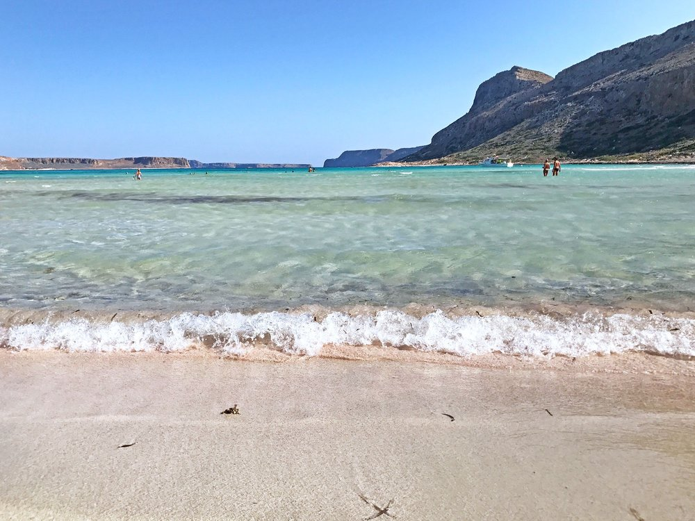 pink sand at Balos beach | Top 8 Experiences Road Tripping Crete, Greece
