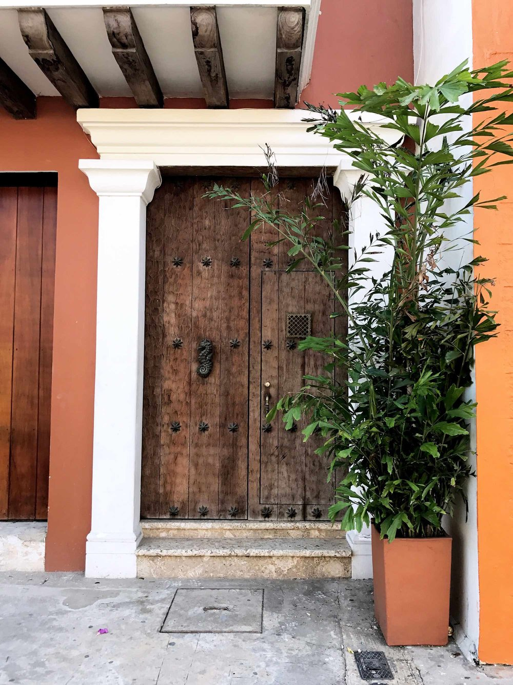 Doors and Door Knockers of Cartagena, Colombia