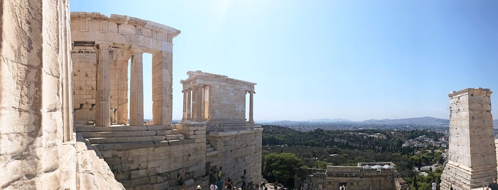 Propylaea, Acropolis, Athens, Greece