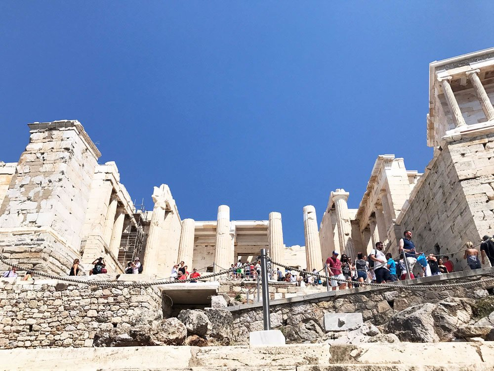 Propylaea, Acropolis Athens, Greece