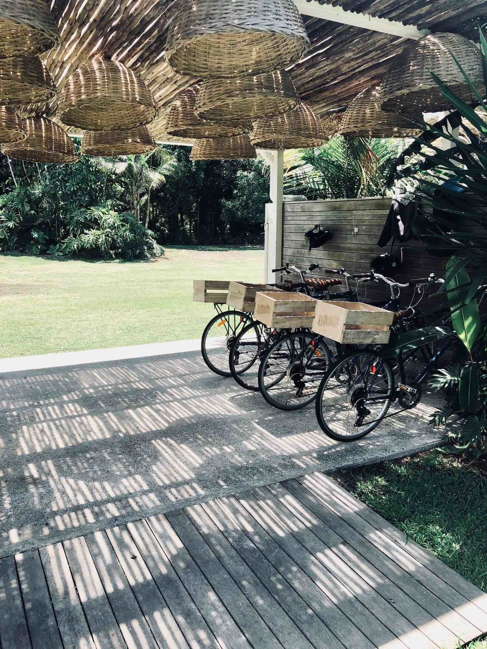 Bikes at The Atlanic Byron Bay