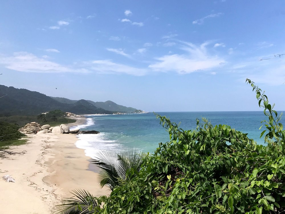 Tayrona National Park Colombia beach