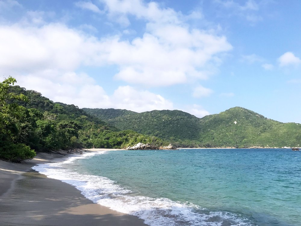 Nudist Beach in Tayrona National Park