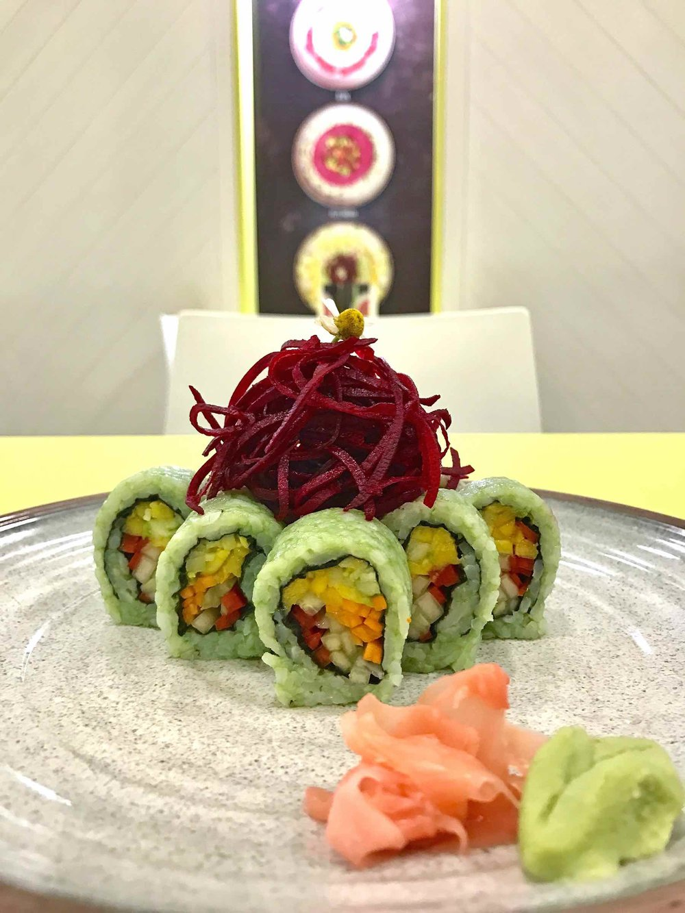 Vegan Sushi, Cartagena, Colombia