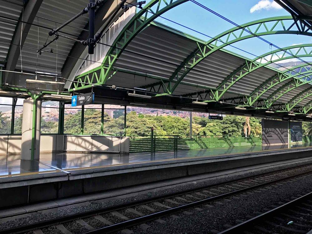Medellin Colombia Metro