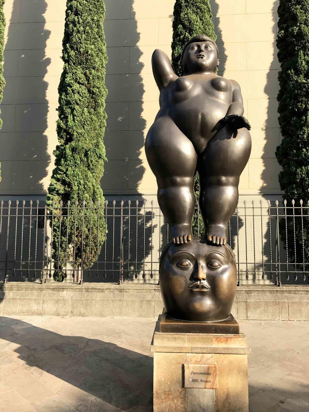 Medellin Colombia Botero art sculpture