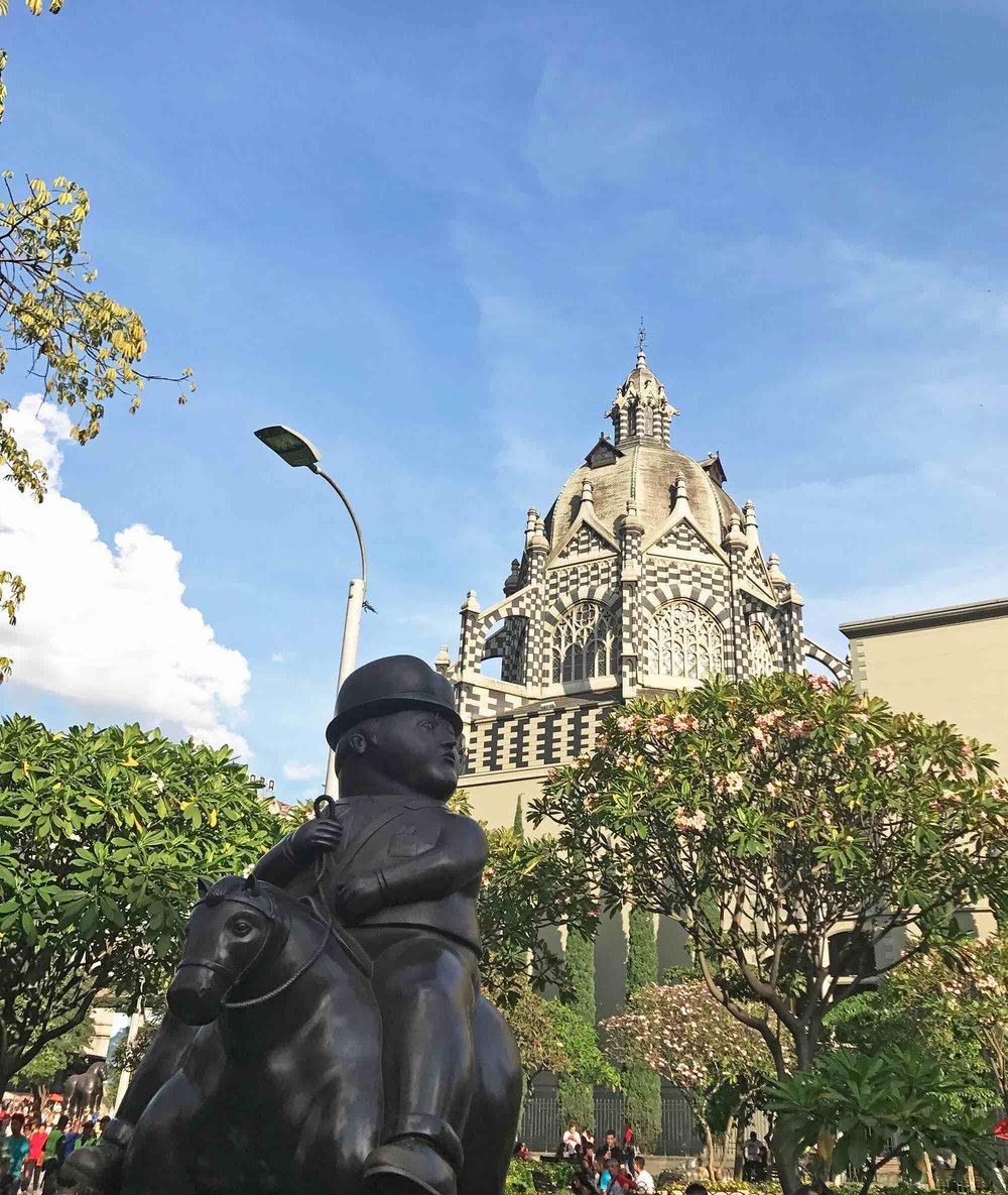 Medellin Colombia Botero Plaza