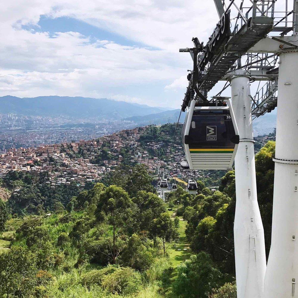 Medellin Colombia tram