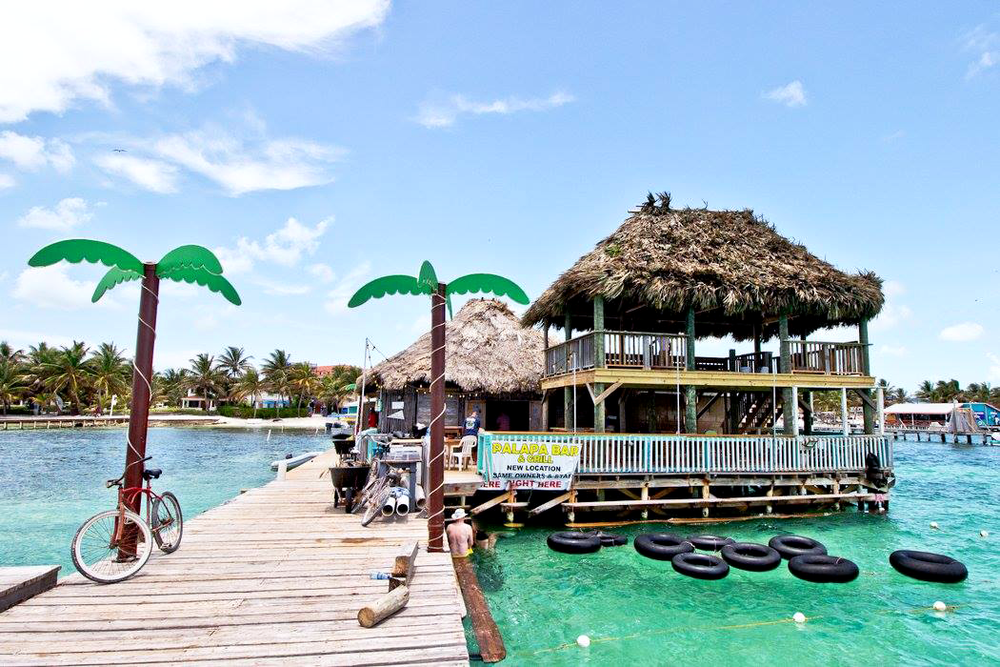 Palapa Bar, Ambergris Caye, Belize