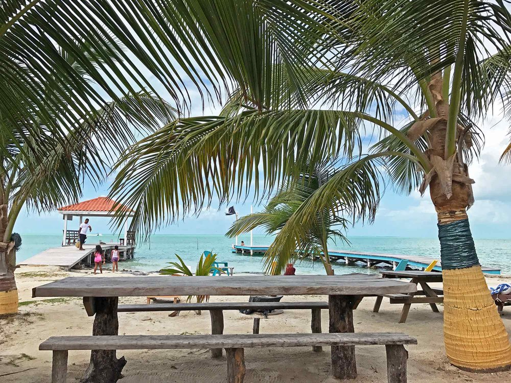 Ambergris Caye Belize beach