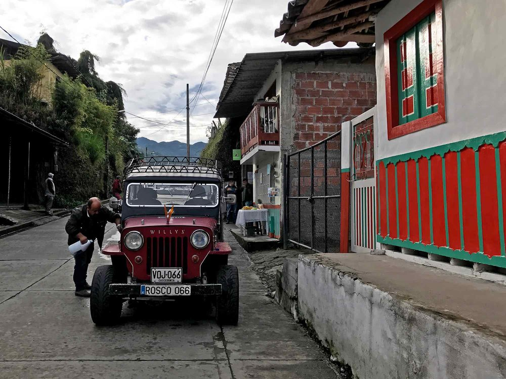 Jeep in Salento | Cocora Valley, Colombia