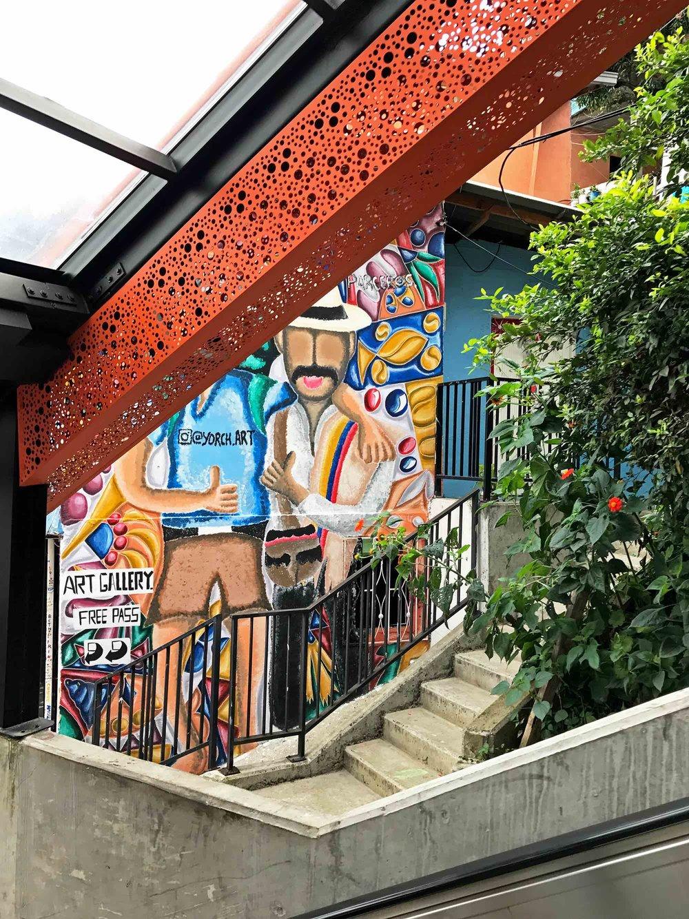 Comuna 13 Medellin Colombia