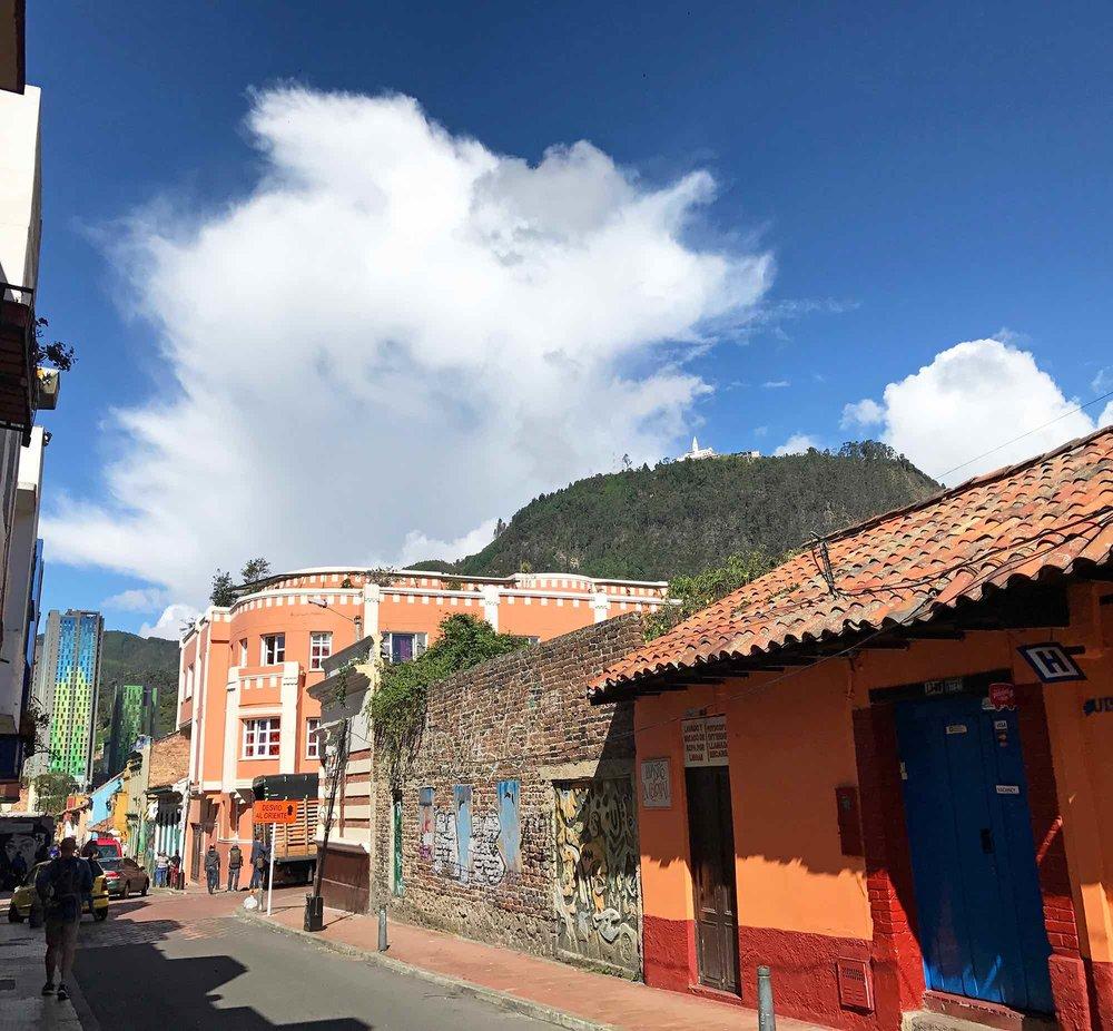Monserrate Hill Above Bogota