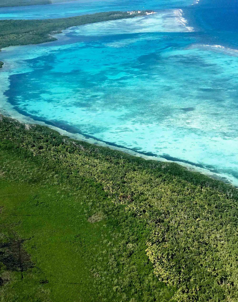 Stunningly Clear Caribbean Ocean Waters