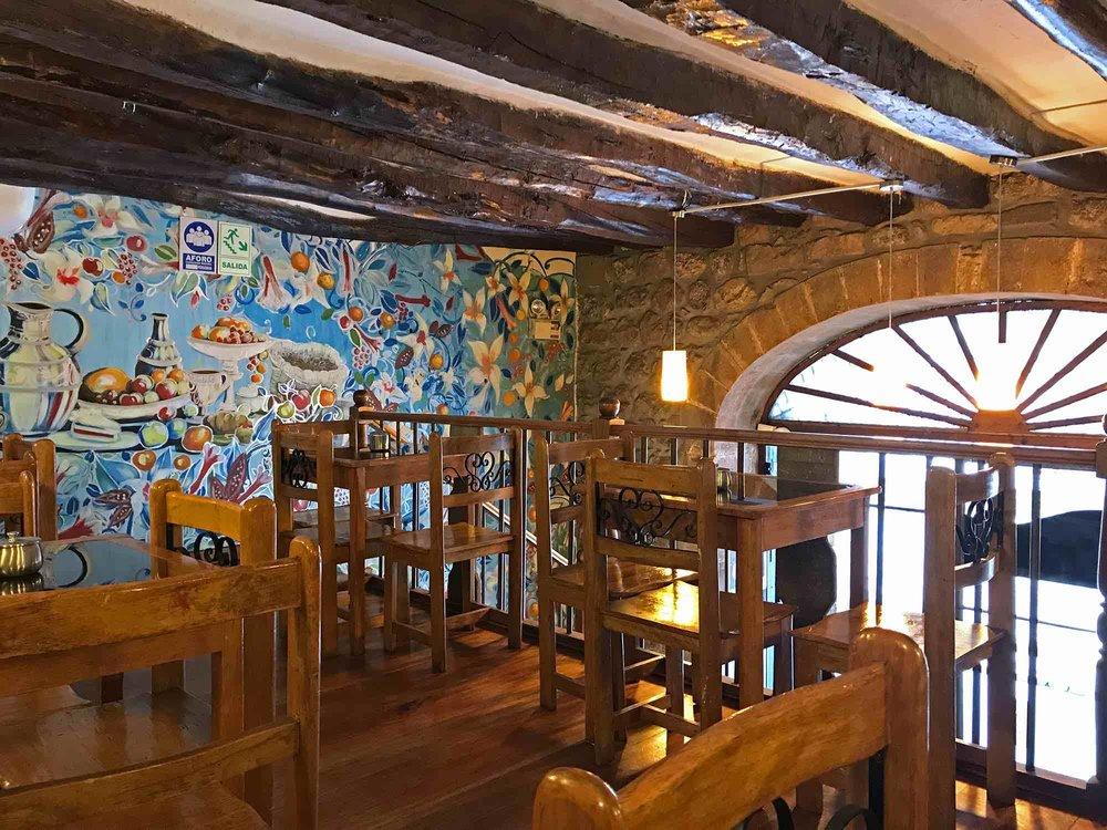 Cafe Panam in Cusco Peru
