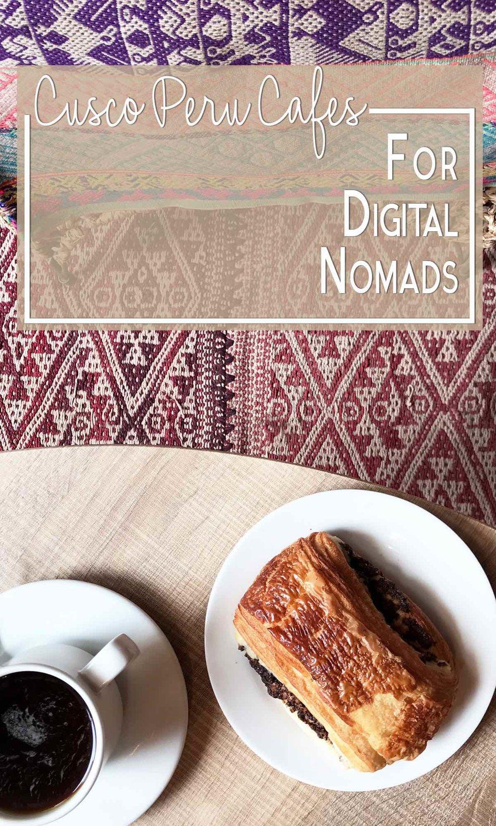 Cusco cafes for digital nomads