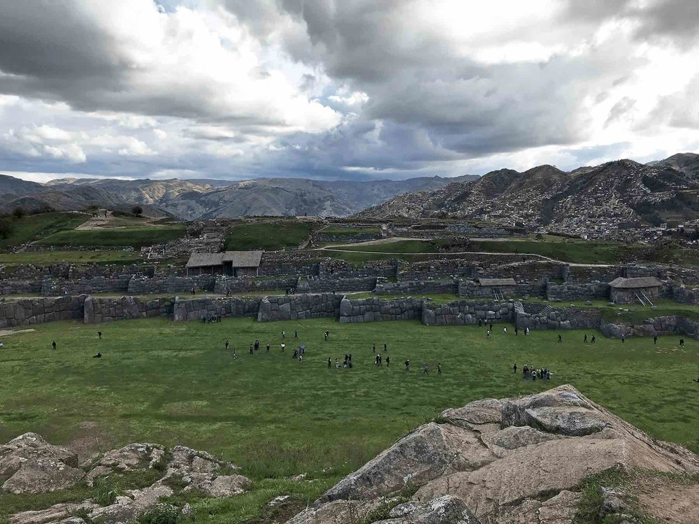 views of Cusco and Sacsayhuaman Inca ruins | Lesser Known Inca Sites in the Sacred Valley of Peru