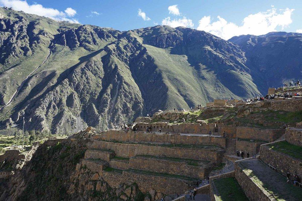 Ollantaytambo Inca Ruins, Sacred Valley, Peru