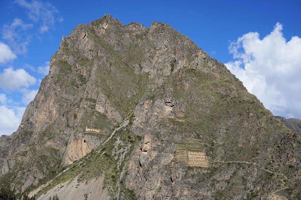 Sacred Valley Peru Ollantaytambo Inca ruins
