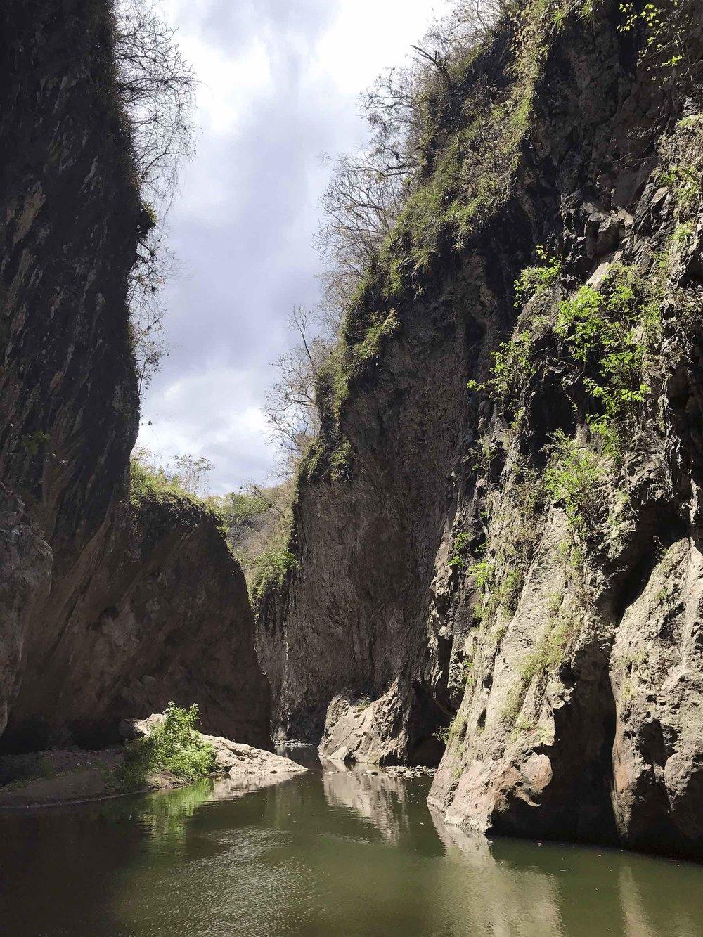 Canyoneering in Somoto Canyon Nicaragua