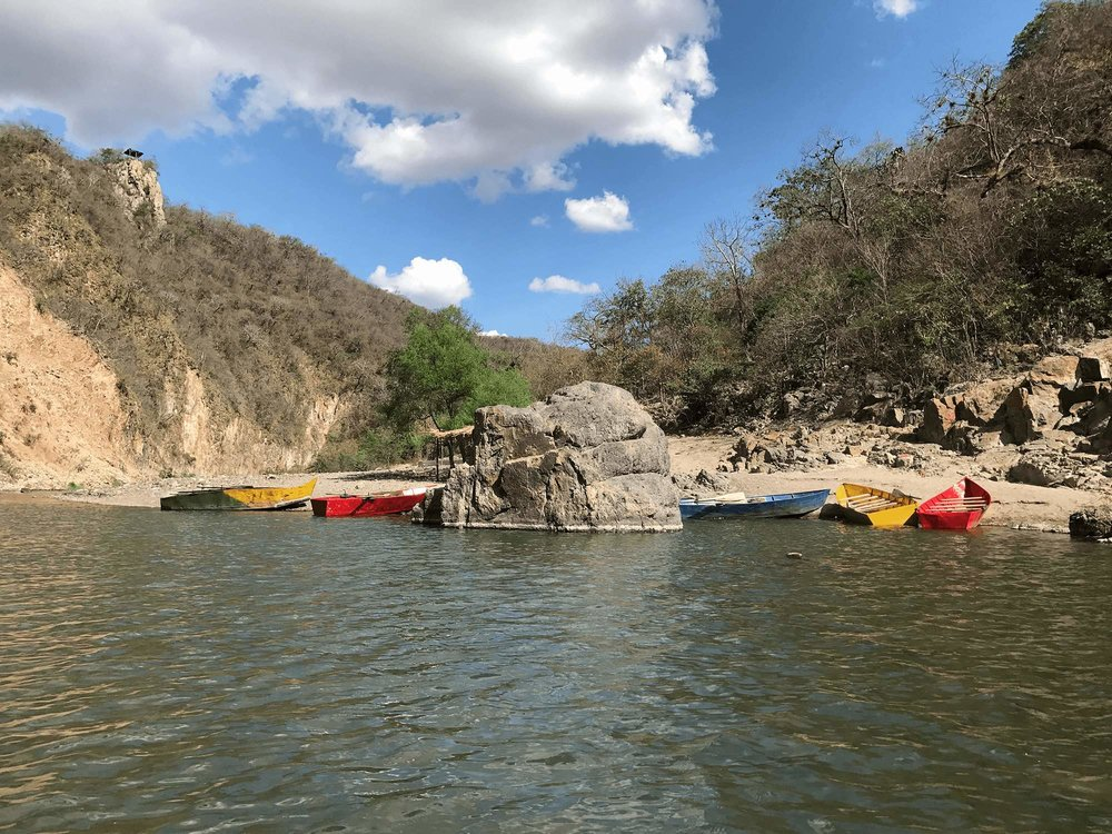 Somoto Canyon Nicaragua boats