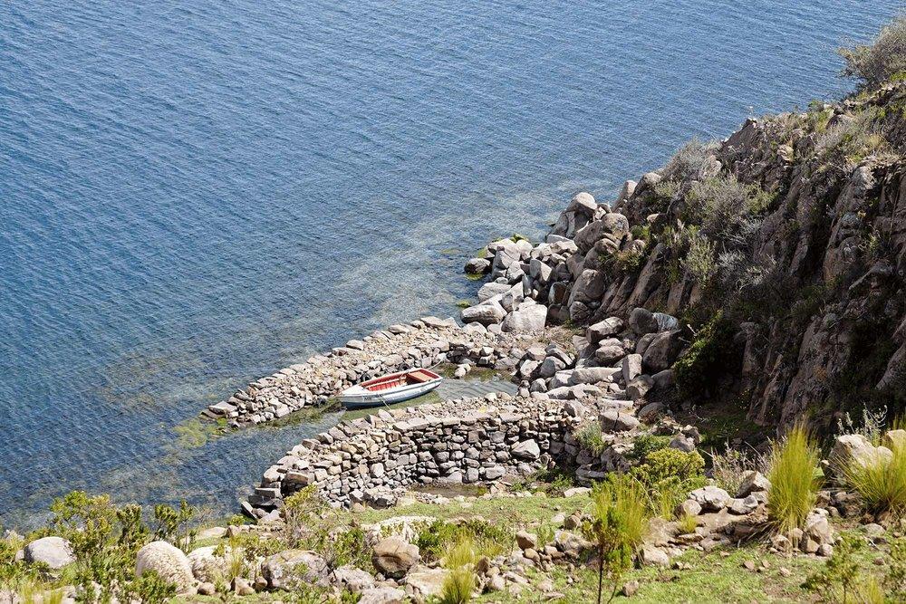 Taquile island   Lake Titicaca, Peru