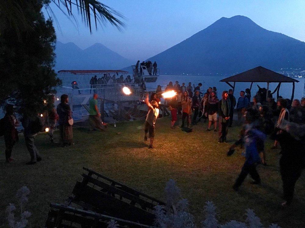 full moon festival | Lake Atitlan, Guatemala