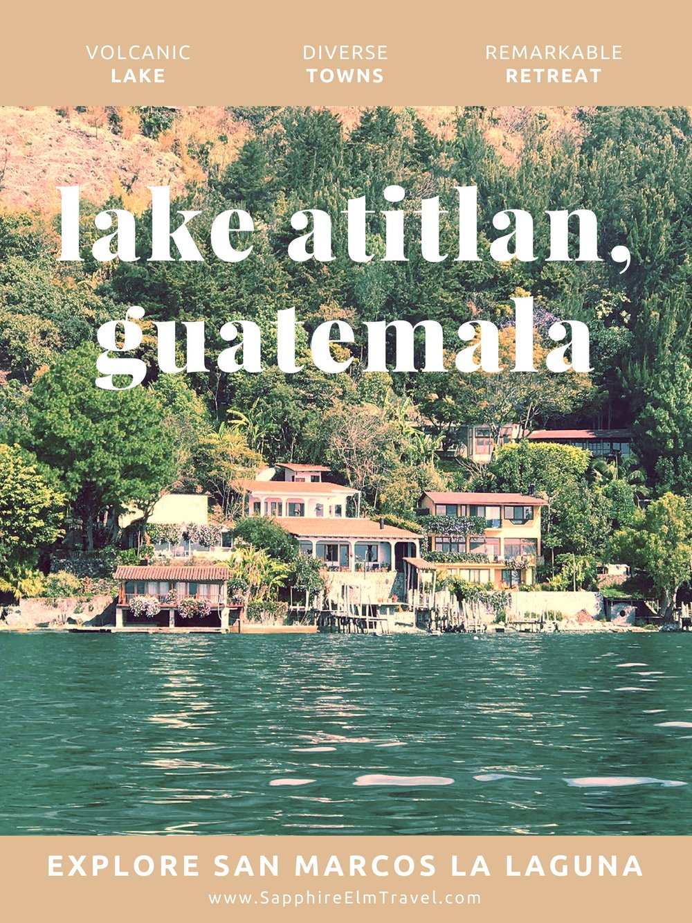 what to do in San marcos la laguna lake atitlan guatemala