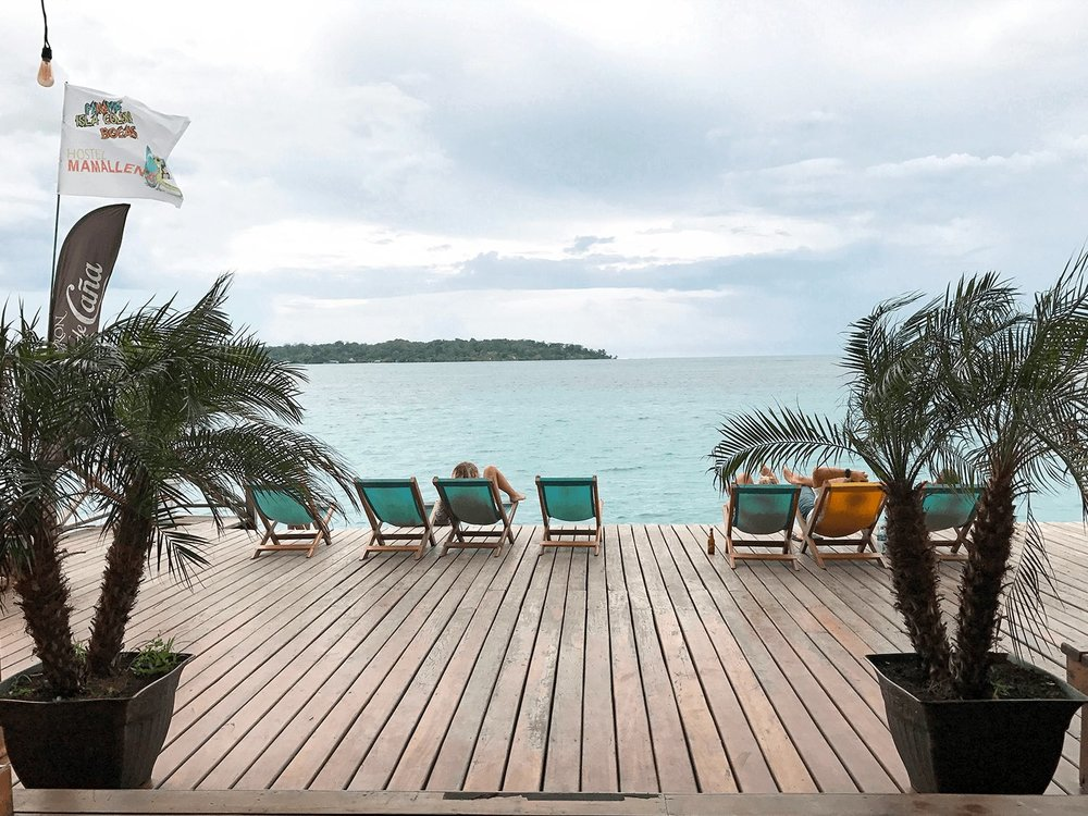 Bocas del Toro Panama dock
