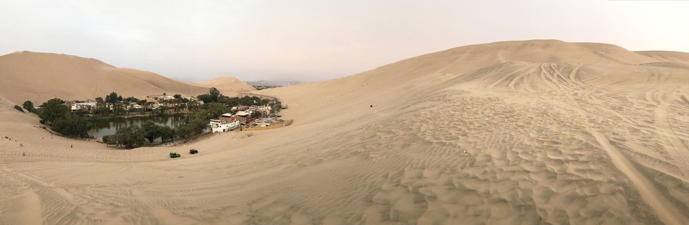 Huacachina Peru desert oasis