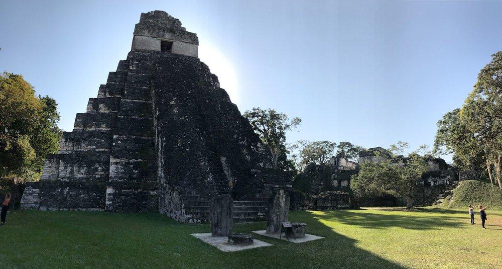 Tikal Guatemala Temple i