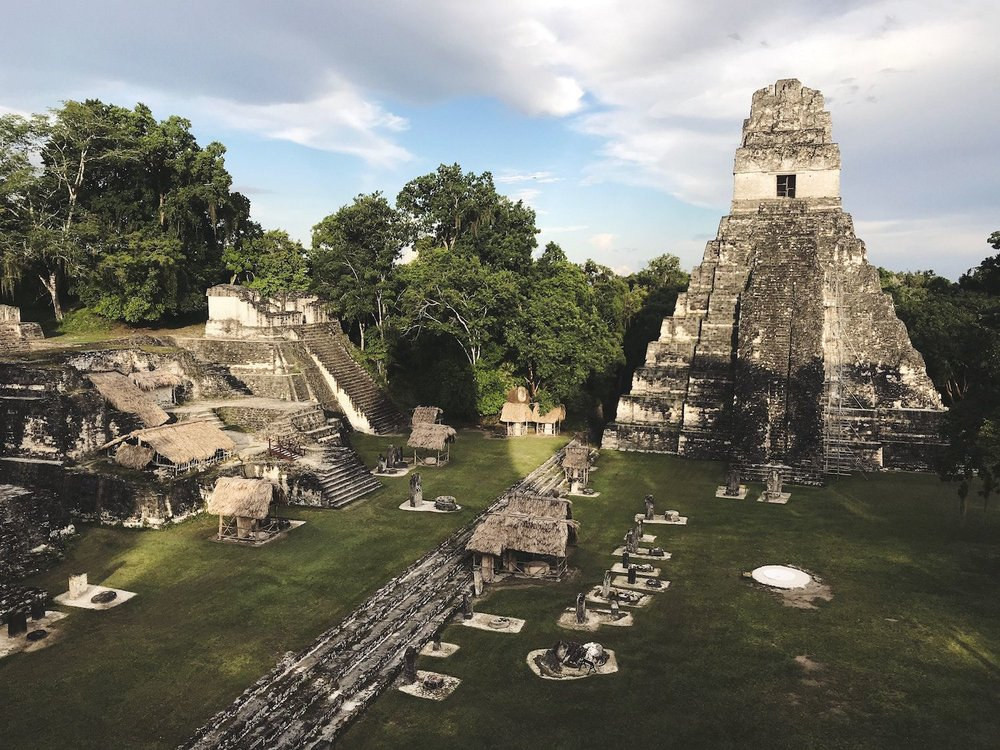 Temple I in Tikal National Park, Guatemala