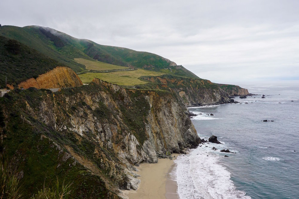 Big Sur California beach and coastline