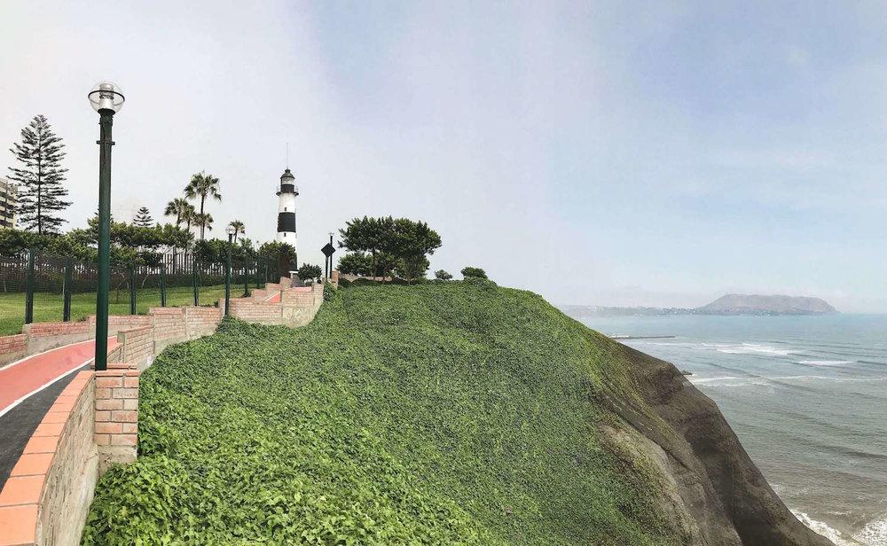 Lima Peru seaside